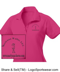 Ladies Dri-Mesh Pro Sport Shirt Design Zoom