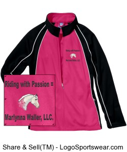 Pretty in Pink Sporty Riding Coat! Design Zoom